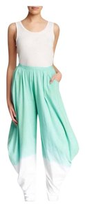 Luna Luz Wide Leg Pants Seabreeze-White