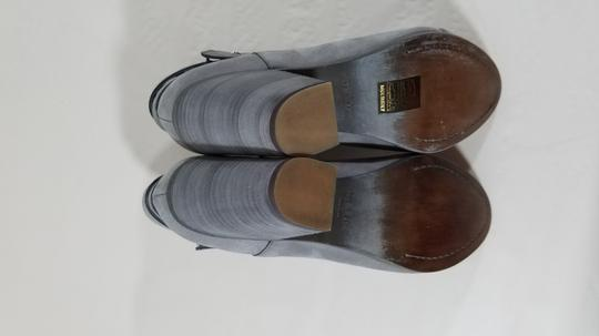 Rag & Bone Ankle Padded Insole Made In Italy Leather Lining Grey Suede Boots Image 10