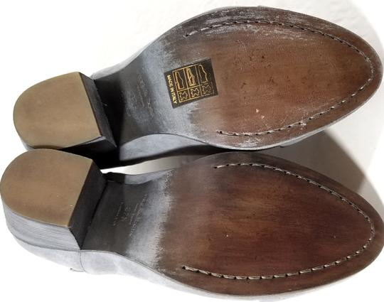Rag & Bone Ankle Padded Insole Made In Italy Leather Lining Grey Suede Boots Image 11