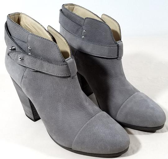 Rag & Bone Ankle Padded Insole Made In Italy Leather Lining Grey Suede Boots Image 2