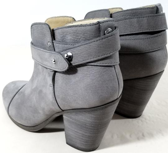 Rag & Bone Ankle Padded Insole Made In Italy Leather Lining Grey Suede Boots Image 3