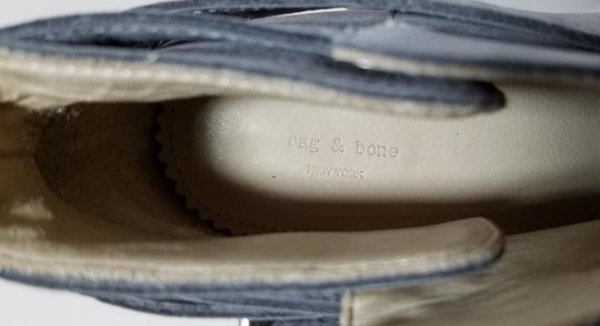 Rag & Bone Ankle Padded Insole Made In Italy Leather Lining Grey Suede Boots Image 8
