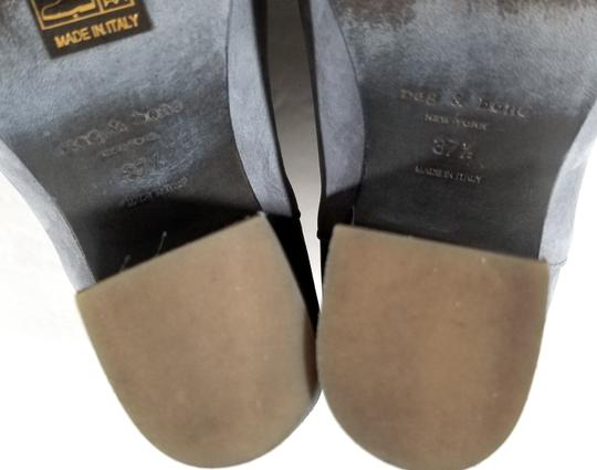 Rag & Bone Ankle Padded Insole Made In Italy Leather Lining Grey Suede Boots Image 9