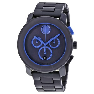 Movado Movado Bold 3600270 Blue Chronograph Mens Watch
