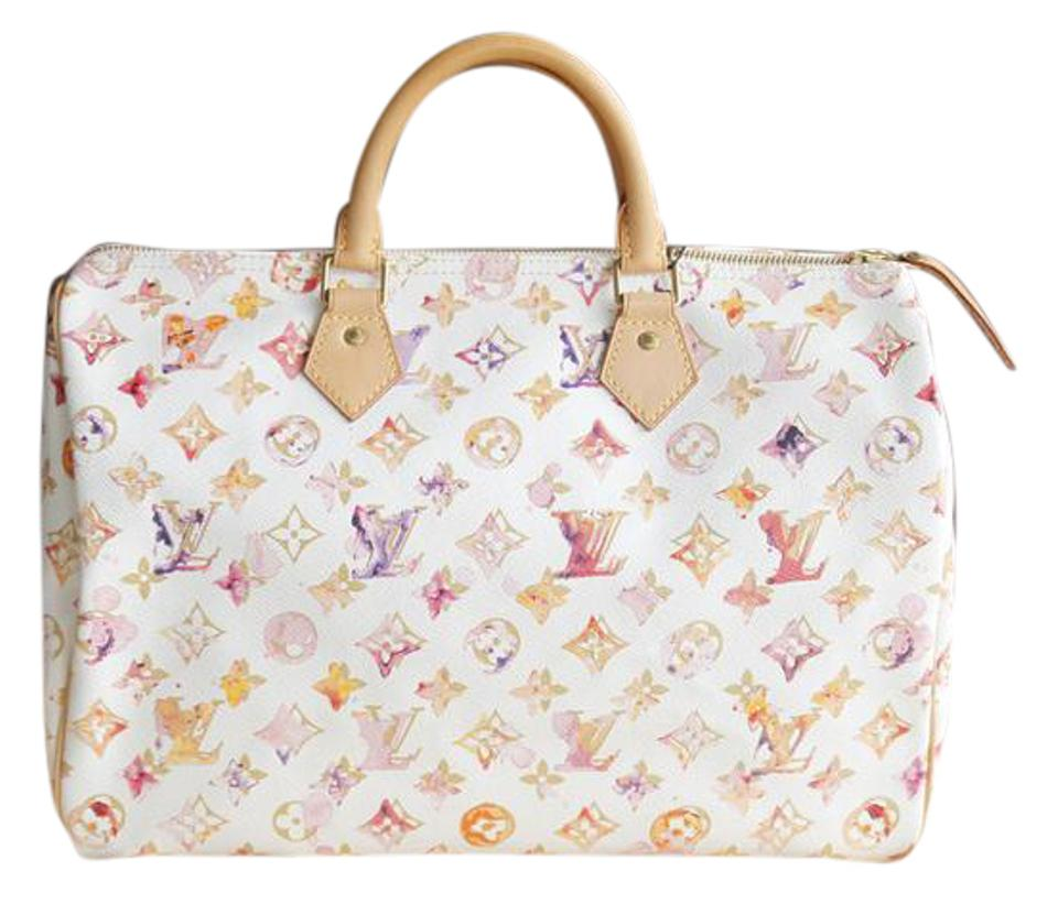 5d7043e6302a Louis Vuitton Richard Prince Watercolor Speedy Limited Edition Speedy 35  Watercolor Satchel in Multicolor Image 0 ...
