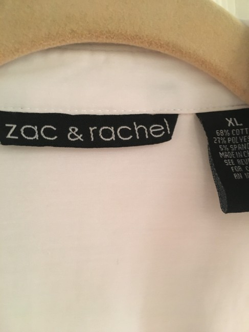 Zac & Rachel Button Down Shirt white Image 2
