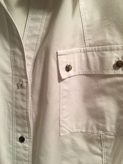 Zac & Rachel Button Down Shirt white Image 3