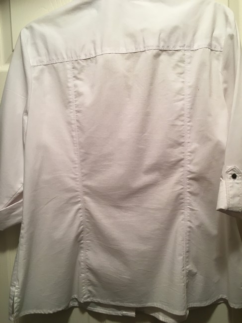 Zac & Rachel Button Down Shirt white Image 4