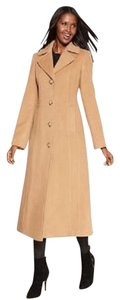 Anne Klein Cashmere Wool Dress Long Maxi Pea Coat