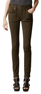 Burberry Denim Jeans Skinny Pants Olive