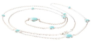 Ippolita Silver & Graduated Turquoise Station Necklace