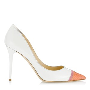 Jimmy Choo Wedding Made In Italy Designer White Pumps