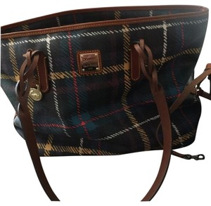 Dooney & Bourke plaid Travel Bag