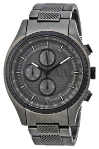 A|X Armani Exchange ARMANI EXCHANGE WATCH AX1606 GUNMETAL CHRONOGRAPH 45MM