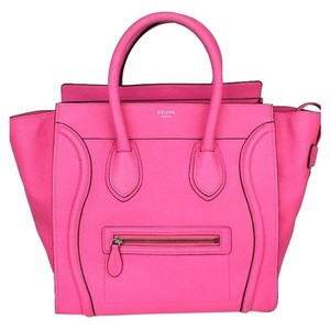 Céline Satchel in Pink