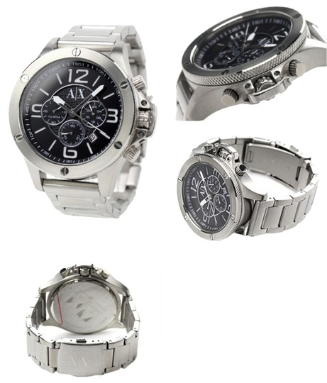 Preload https://item5.tradesy.com/images/armani-exchange-mens-armani-exchange-chronograph-watch-stainless-steel-bracelet-2065184-0-0.jpg?width=440&height=440