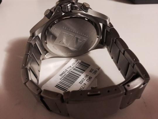 A|X Armani Exchange MENS Armani Exchange Chronograph Watch, Stainless Steel Bracelet,