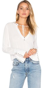 Free People Top ivory