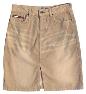 Tommy Hilfiger Mini Skirt khaki