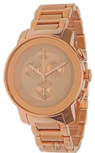 Movado BRAND NEW WOMENS MOVADO (3600210) BOLD ROSE GOLD STAINLESS STEEL STRAP