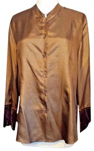 April Cornell Muse Vintage Top Brown