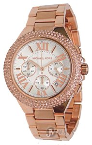 Michael Kors NWT WOMENS MICHAEL KORS (MK5636) CAMILLE ROSE GOLD CHRONOGRAPH WATCH