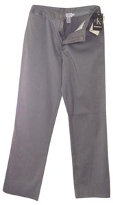 Calvin Klein Size 9 Straight Pants grey