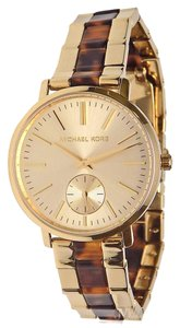 Michael Kors NEW WOMENS MICHAEL KORS (MK3511) JARYN STAINLESS STEEL ACETATE WATCH