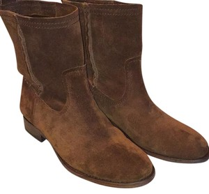 Frye Wood (brown suede) Boots