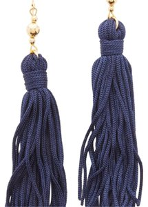 Kenneth Jay Lane Bead and Tassel earrings