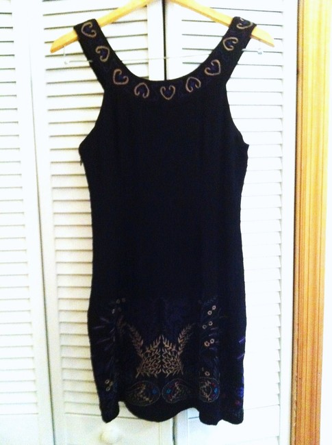 Preload https://img-static.tradesy.com/item/20652236/free-people-black-embroidered-short-casual-dress-size-4-s-0-0-650-650.jpg