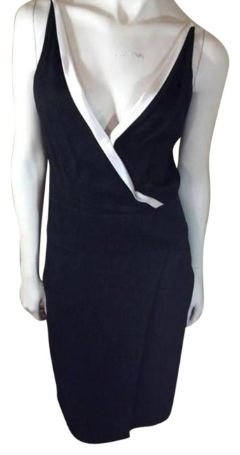 Narciso Rodriguez Black Spaghetti Strap Mid-length Cocktail Dress Size 6 (S) Narciso Rodriguez Black Spaghetti Strap Mid-length Cocktail Dress Size 6 (S) Image 1
