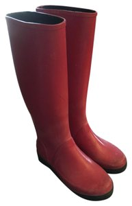 Polo Ralph Lauren Red Boots