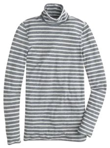 J.Crew Tissue Turtleneck Stripe Nwt Sweater