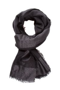 Marc Jacobs Black Woven Scarf