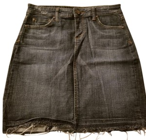 See Thru Soul Skirt Denim