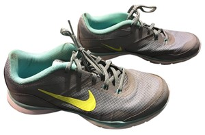 Nike Gray, Blue, and Green Athletic