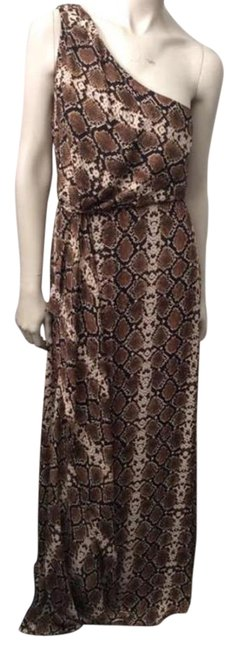 BCBGMAXAZRIA Brown Kessa Long Casual Maxi Dress Size 8 (M) BCBGMAXAZRIA Brown Kessa Long Casual Maxi Dress Size 8 (M) Image 1