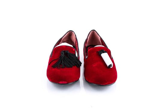 Marc Jacobs Red Flats Image 1