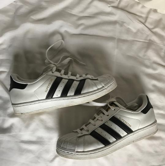 adidas White Athletic Image 4