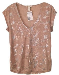 H&M Top Pink & Silver