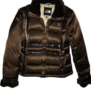The North Face BROWN Leather Jacket
