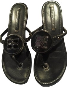 BCBGMAXAZRIA Bcbg Leather black Sandals