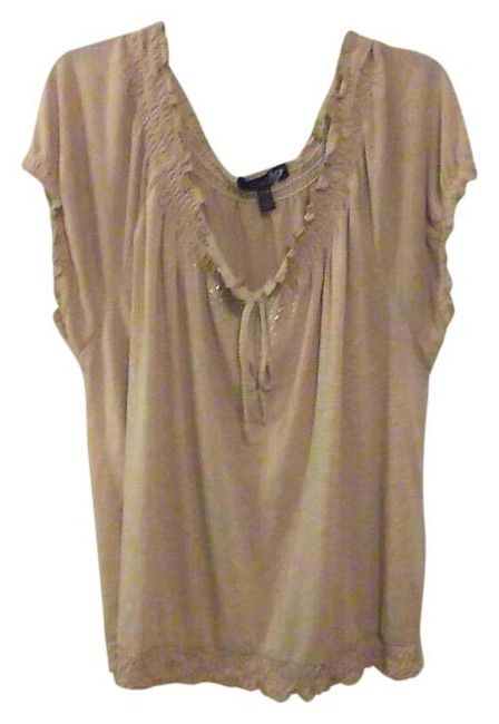 Preload https://img-static.tradesy.com/item/20653128/light-tan-woman-s-wcrystals-blouse-size-24-plus-2x-0-1-650-650.jpg