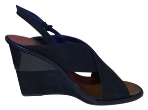 Tory Burch Royal Navy Wedges