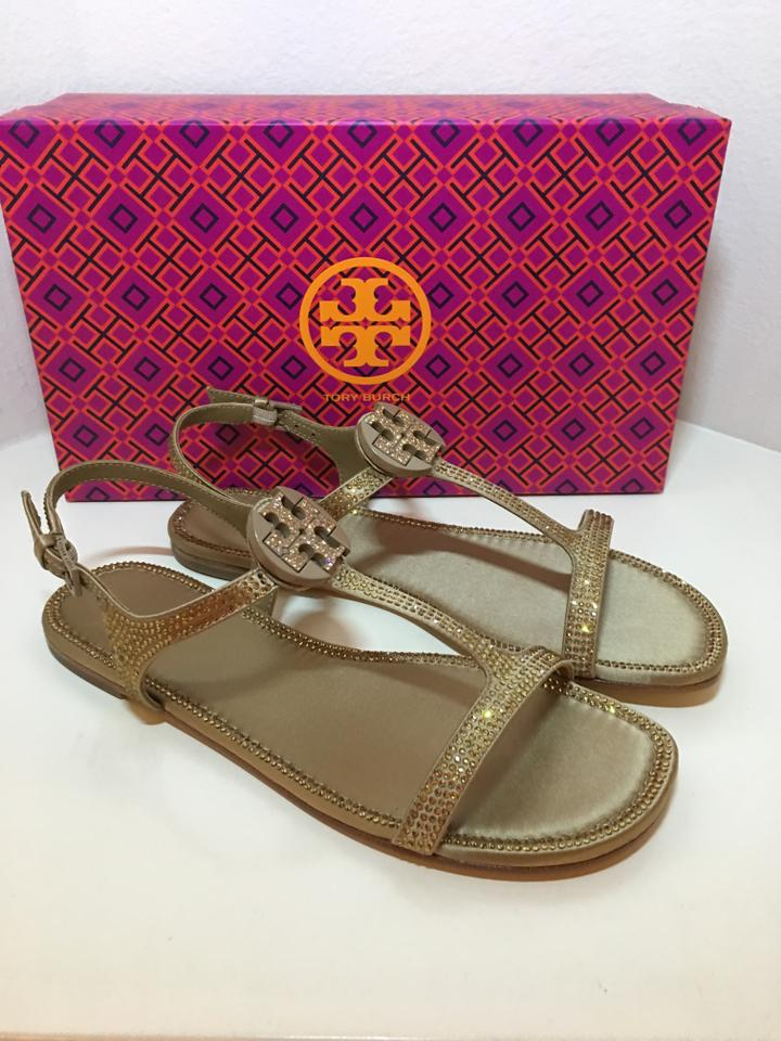 7f78da04c Tory Burch River Rock Delphine Crystal Embellished Satin Sandals ...