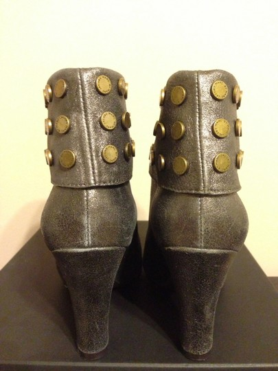 Marc by Marc Jacobs Pewter Grey Boots