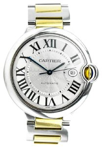 Cartier * Ballon Bleu De Carter 18K Gold and Stainless Steel Watch