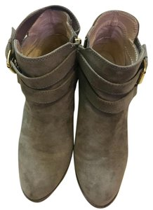 Express Ankle Comfortable Suede Versatile Grey Boots