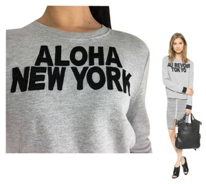 AIKO Aloha New York Shirt Giacomo Heather Terry Cloth Shirt Sweatshirt